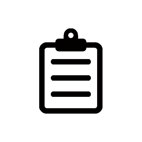 クリップボード アイコン