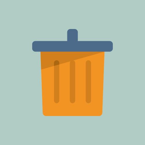 ゴミ箱 カラーアイコン