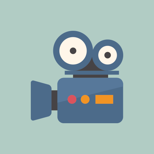 ビデオカメラのアイコン フリー素材