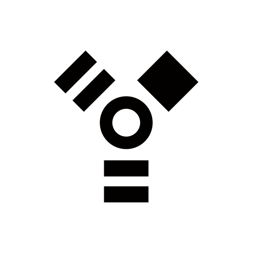 FIREWIREマーク/ファイヤーワイヤーマーク モノクロアイコン