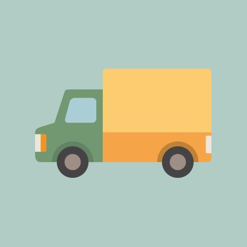 トラック イラスト フリー素材