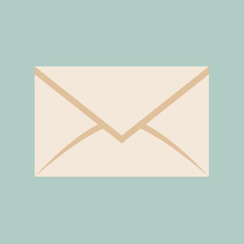 メール/手紙 シンプルイラスト フリー素材