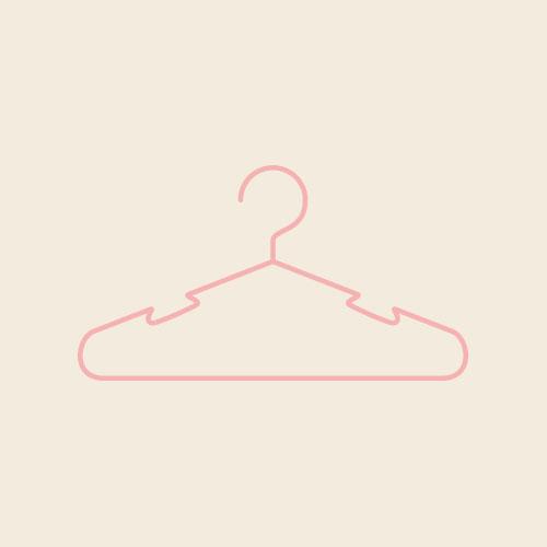 ハンガー(ピンク) シンプルイラスト フリー素材