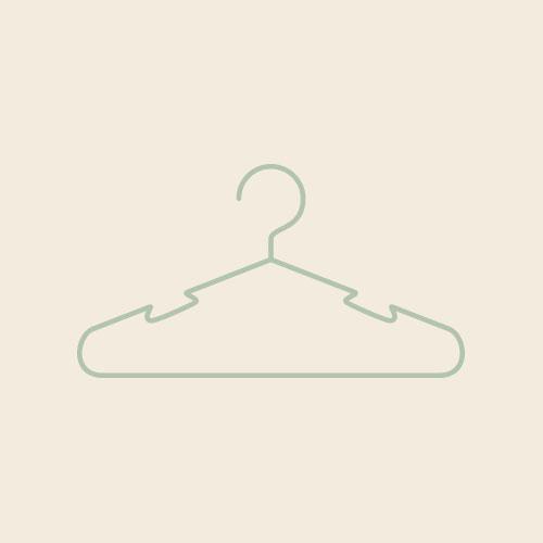 ハンガー(グリーン) シンプルイラスト フリー素材