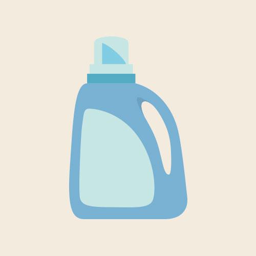 洗濯洗剤・柔軟剤 シンプルイラスト フリー素材