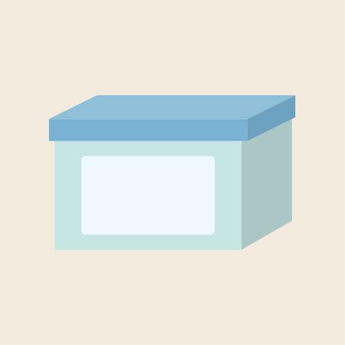 洗濯用粉洗剤 シンプルイラスト フリー素材