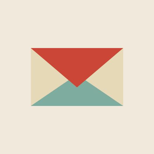 メールのアイコン  フリー素材