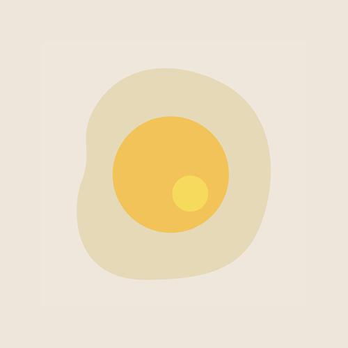 目玉焼きのイラスト アイコン フリー素材