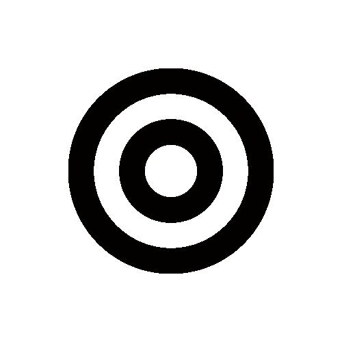 市役所・役場 地図記号 アイコン フリー素材