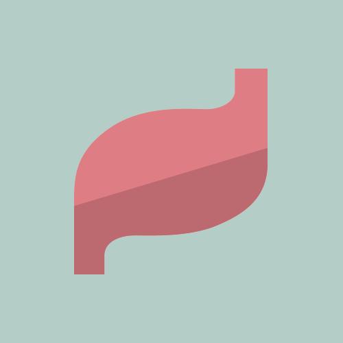 胃 フラットデザイン カラーイラスト アイコン フリー素材