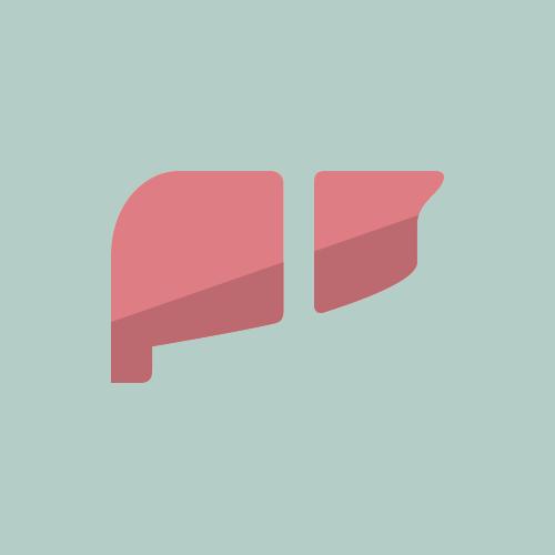 肝臓 フラットデザイン カラーイラスト アイコン フリー素材