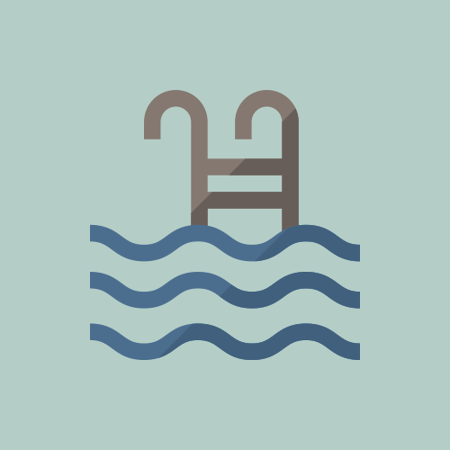水泳 / プール カラーアイコン フリー素材