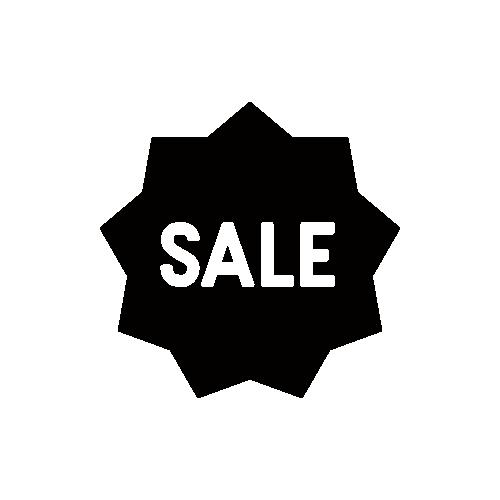 セール SALE モノクロアイコン素材