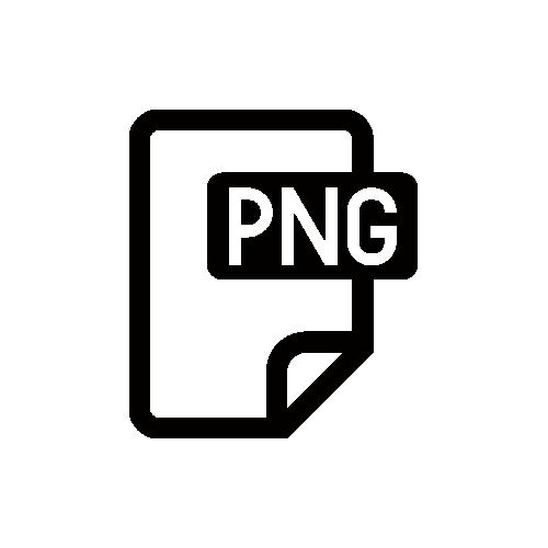 PNG モノクロアイコン素材