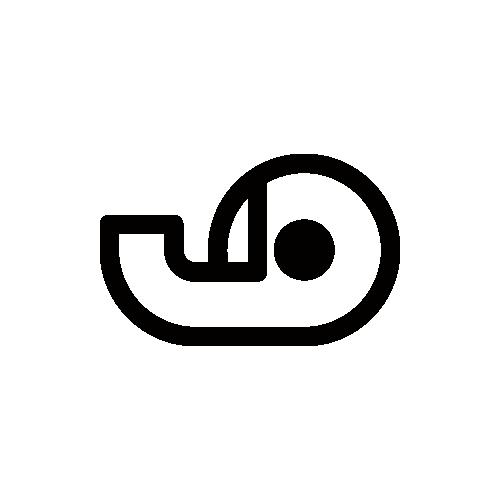 セロハンテープ モノクロアイコン素材