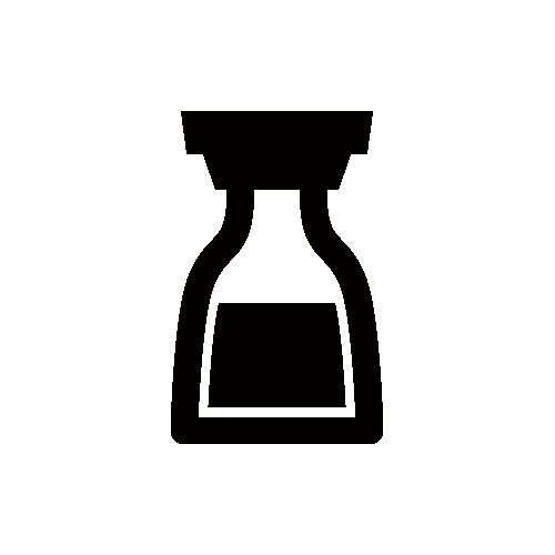 醤油 モノクロアイコン素材