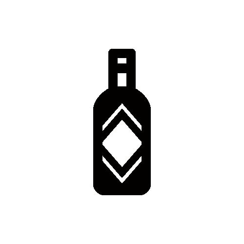タバスコ モノクロアイコン素材