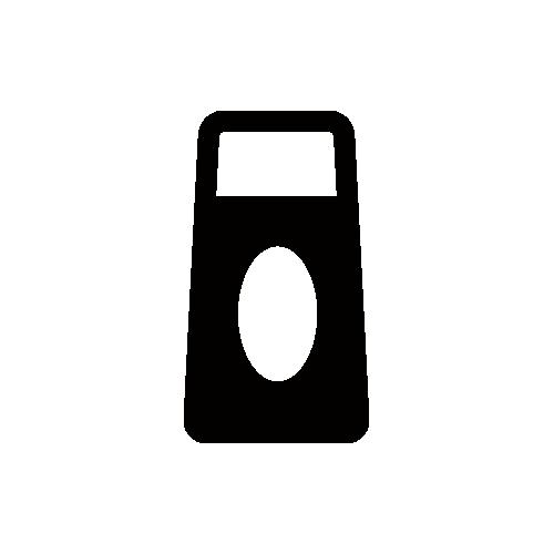 ソース モノクロアイコン素材