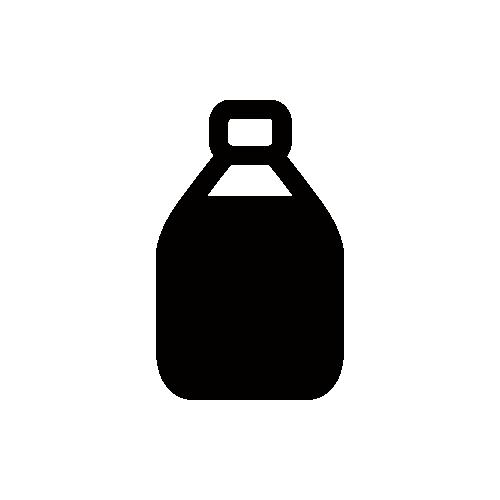ケチャップ モノクロアイコン素材
