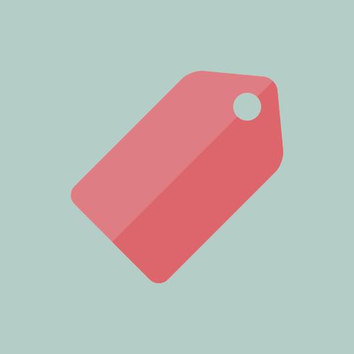 タグ カラーアイコン フリー素材