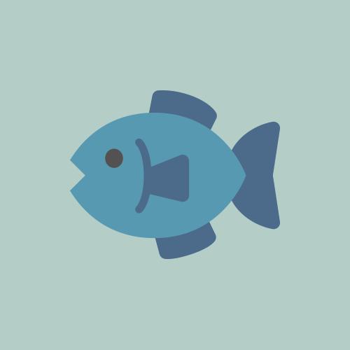 魚 カラーアイコン フリー素材
