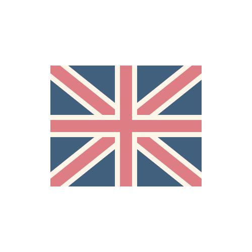 イギリス 国旗 カラーアイコン フリー素材