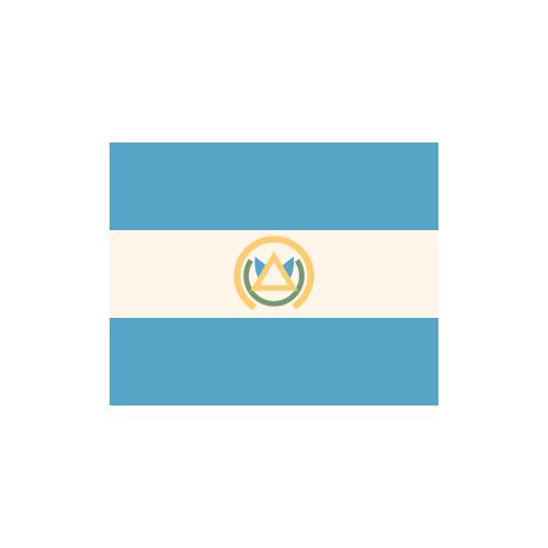 エルサルバドル 国旗 カラーアイコン フリー素材