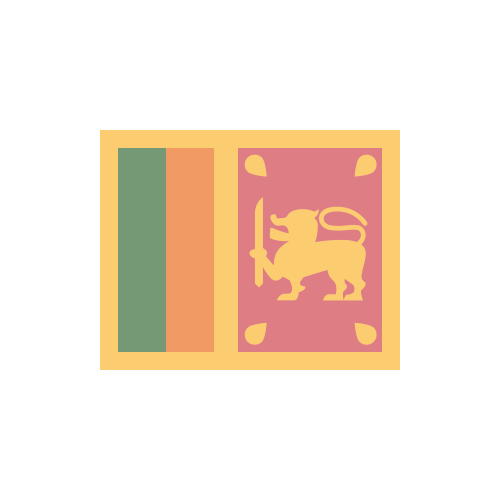 スリランカ 国旗 カラーアイコン フリー素材