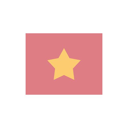 ベトナム 国旗 カラーアイコン フリー素材